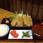活魚 千葉屋 - 料理写真:あじフライ定食
