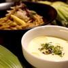 麺や 庄の ゴツボ - 料理写真:冷たいトウモロコシのつけめん