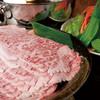 あぐーの隠れ家 - 料理写真:県産黒毛和牛しゃぶしゃぶ
