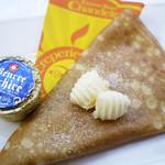 クレープリー 京都シャンデレール - 料理写真:エレシバターとお砂糖