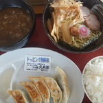 中華そば つけ麺 久兵衛 - 全部到着!これで780円!(2015.6.23)