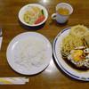 Supitsuto - 料理写真:ハンバーグ卵のせ