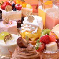 30種類の自家製ケーキ