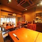 魚がし日本一 - テーブル個室席