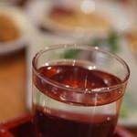 立飲みカドクラ - 最後は日本酒で大満足で有ります。