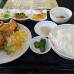 中華食堂 わか - からあげ定食❤️  700円