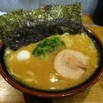 麺童虎徹 - 「麺童虎徹」醤油ラーメン並650円(税込)麺柔らかめ注文