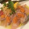 BUONO - 料理写真:ウニと鰆のカルパッチョ