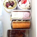 Ryoco - 初訪問で買いたいケーキがタイミングよく買えました。