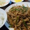 廣聚隆 - 料理写真:青椒肉絲(サラダ・スープ・漬物・コーヒー付き):680円/2015年7月 日替りランチ