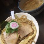 麺や ポツリ - 濃厚煮干つけ麺 大盛 ¥850