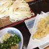 おに吉 - 料理写真:ざる大盛アナゴ天