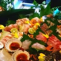 ◇産地直送地魚のお刺身◇      1200円~