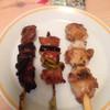 鳥芳 - 料理写真:焼鳥3串