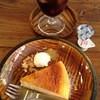 デモッソ・ノット・キーノ - 料理写真:ベイクトチーズケーキセット
