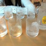 浦和新井商店 - 【2015年6月】飲み比べセット600円