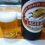 寿司処やぐら - 瓶ビール