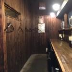 つぼや - 店内カウンター