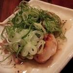 かちまる - 料理写真:ねぎ塩チキン