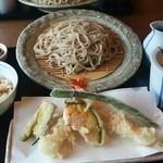 はぎ乃 - 天ぷら定食