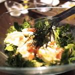 ヌーベル ジャポネーゼ 凛 - 豆腐のサラダ