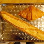 ル・パン・コティディアン - オーガニック小麦のバゲットSとクロワッサン
