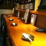 酒・肴 魚信 - カウンター