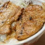十勝豚丼 いっぴん - バラ、ロース