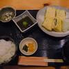 和食 お酒 彩は - 料理写真:煮穴子と三つ葉のだし巻き玉子膳