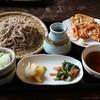 古民家のお蕎麦やさん 五月八日 - 料理写真:かき揚もり蕎麦
