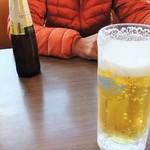三宝亭 - 生ビール410円 オールフリー162円