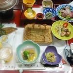 旅館大和屋 - 料理写真:夕方 3,500円コース