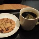 スターバックス コーヒー - チョコレートチャンククッキー&ケニアTall