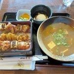 のんき亭 - のんき定食2015.07.04
