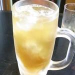 昭龍軒 - ドラゴンハイボール¥450(税込) 老酒+レモンサワー☆♪