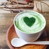 フュージョンカフェ - ドリンク写真:大人気♪かわいい抹茶ラテ♪