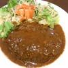 ビーハウス - 料理写真:ハンバーグLサイズ¥1300(税込)☆♪