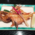 寿司割烹吾妻 - きんきの塩焼き