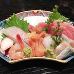 寿司割烹吾妻 - 刺し盛り