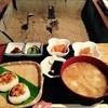 朝日屋亭 - 料理写真:おにぎりもおうどんもとっても美味しい