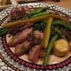 順 - 料理写真:合鴨のロースト、実山椒のソース(1500円)