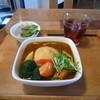 スープカリー OASIS - 料理写真:ライスコロッケのカレー