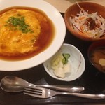 レモンバーム - 那須御養卵のふわとろ天津丼