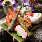 和の食彩 吉楽庵 - 料理写真:5月の会席前菜