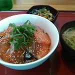 キッチンえみゅー - 信州サーモン丼