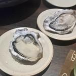 牡蠣と魚 海宝 - やっぱり的矢が一番美味しかったな~♪