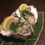 佐渡島へ渡れ - 生牡蠣