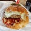 ダイニング ゴエモン - 料理写真:倉石牛のハンバーグが肉肉しい♪