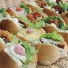 みくどーる - 料理写真:プチサンド ¥59(税別) プチサイズのサンドイッチ。種類は20種以上!大人気です(^^)