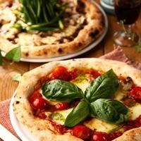 窯焼きピザはオリジナルトッピングがたくさん!